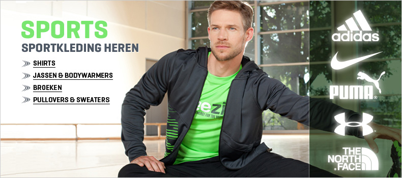 Sportkleding voor heren online bestellen op Zalando.nl