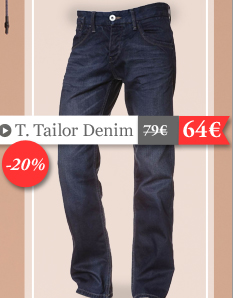 Tom Tailor Denim 64 euros