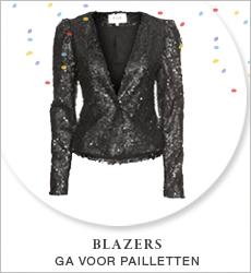 Blazers - Ga voor pailetten