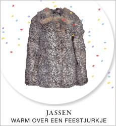 Jassen - Warm over een feestjurkje