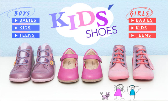 Kids Shoes - Buy Kids Shoes Online Here - Cloggs.co.uk - Fantastic