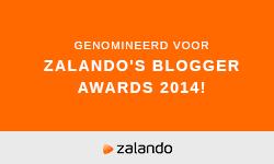 Genomineerd voor Zalando's Blogger Awards 2014