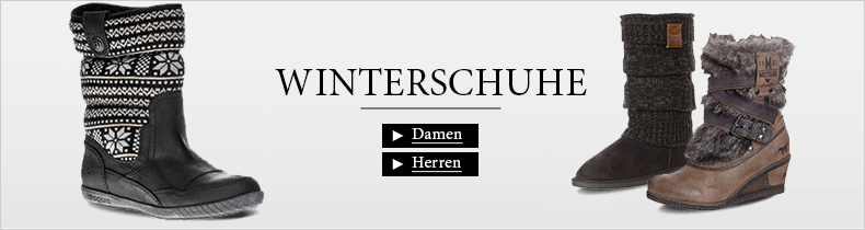 Winterschuhe fr Damen und Herren
