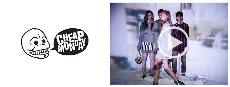 Cheap Monday fashion show video on Zalando