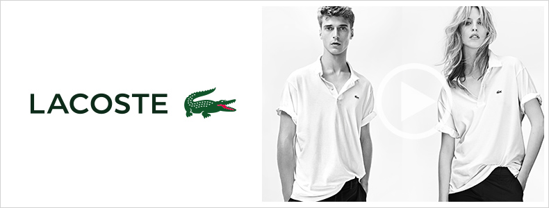Lacoste Video bei Zalando.at