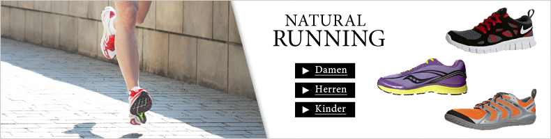 Natural Running bei Zalando Sports