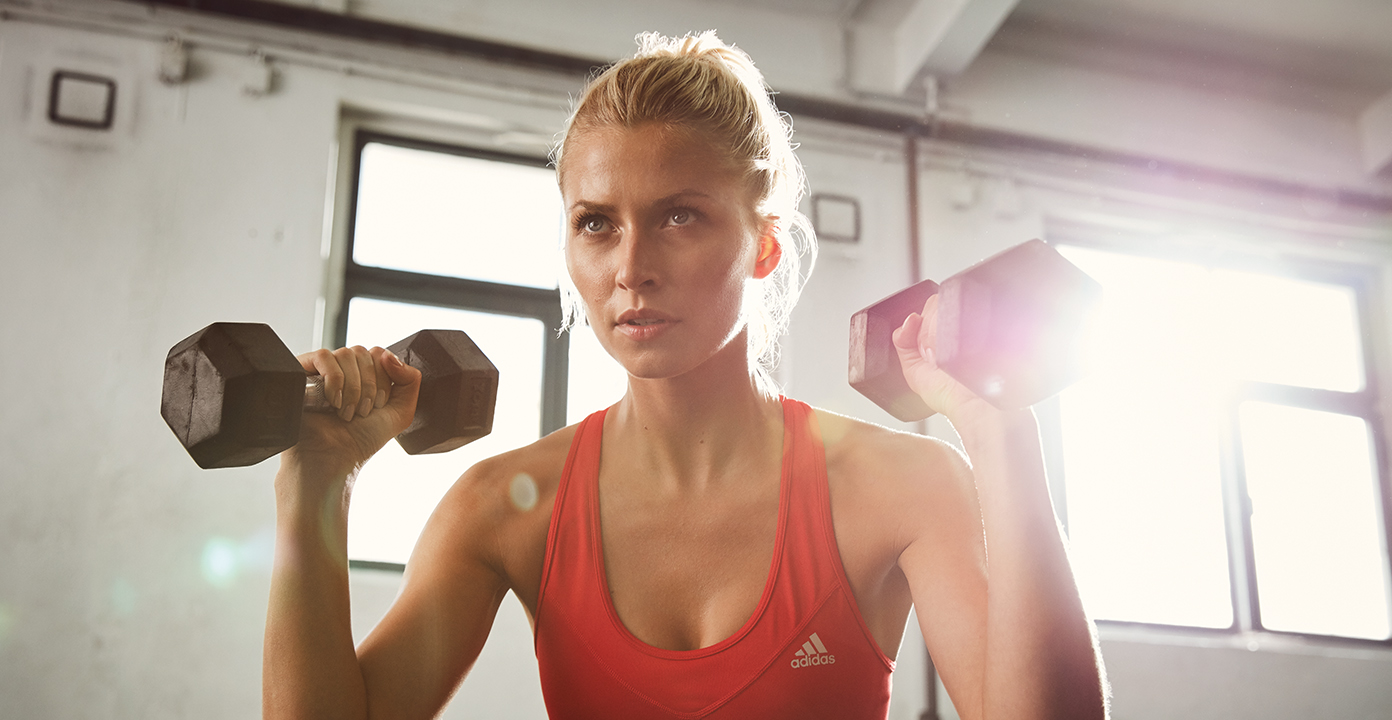 Lena Gercke über High Intensity Training | ADVIZE