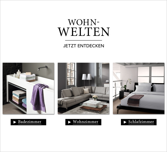 wohnen wohnaccessoires und textilien bei kaufen. Black Bedroom Furniture Sets. Home Design Ideas