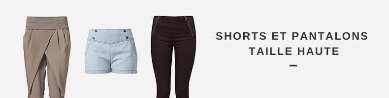 Shorts Et Pantalons Taille Haute La Sélection De Zalando