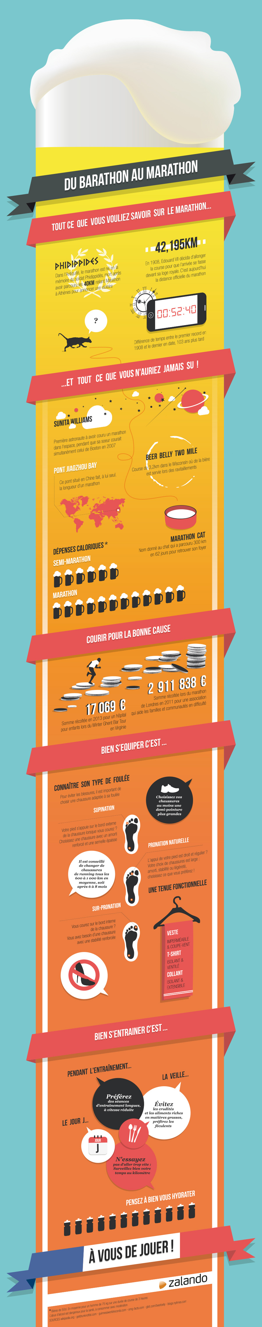 Infographie ZALANDO