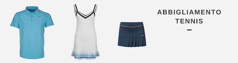 abbigliamento tennis nike