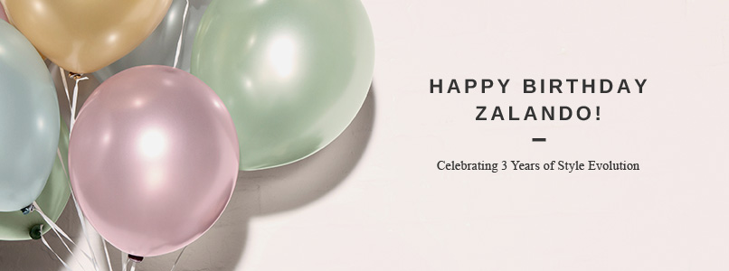 Zalando Third Birthday