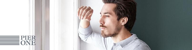 pier one herrenbekleidung aktuelle trends bei zalando entdecken. Black Bedroom Furniture Sets. Home Design Ideas